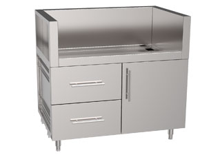 Stainless Steel Grill Cabinets Outdoor Jw